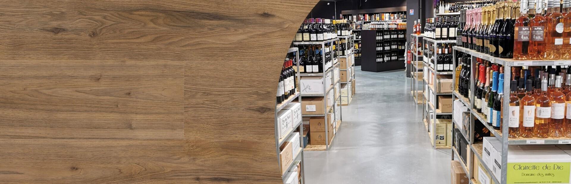Plus de 1000 spiritueux, plus de 500 vins, plus de 400 bières et pleins d'autres choses sélectionnées avec passion